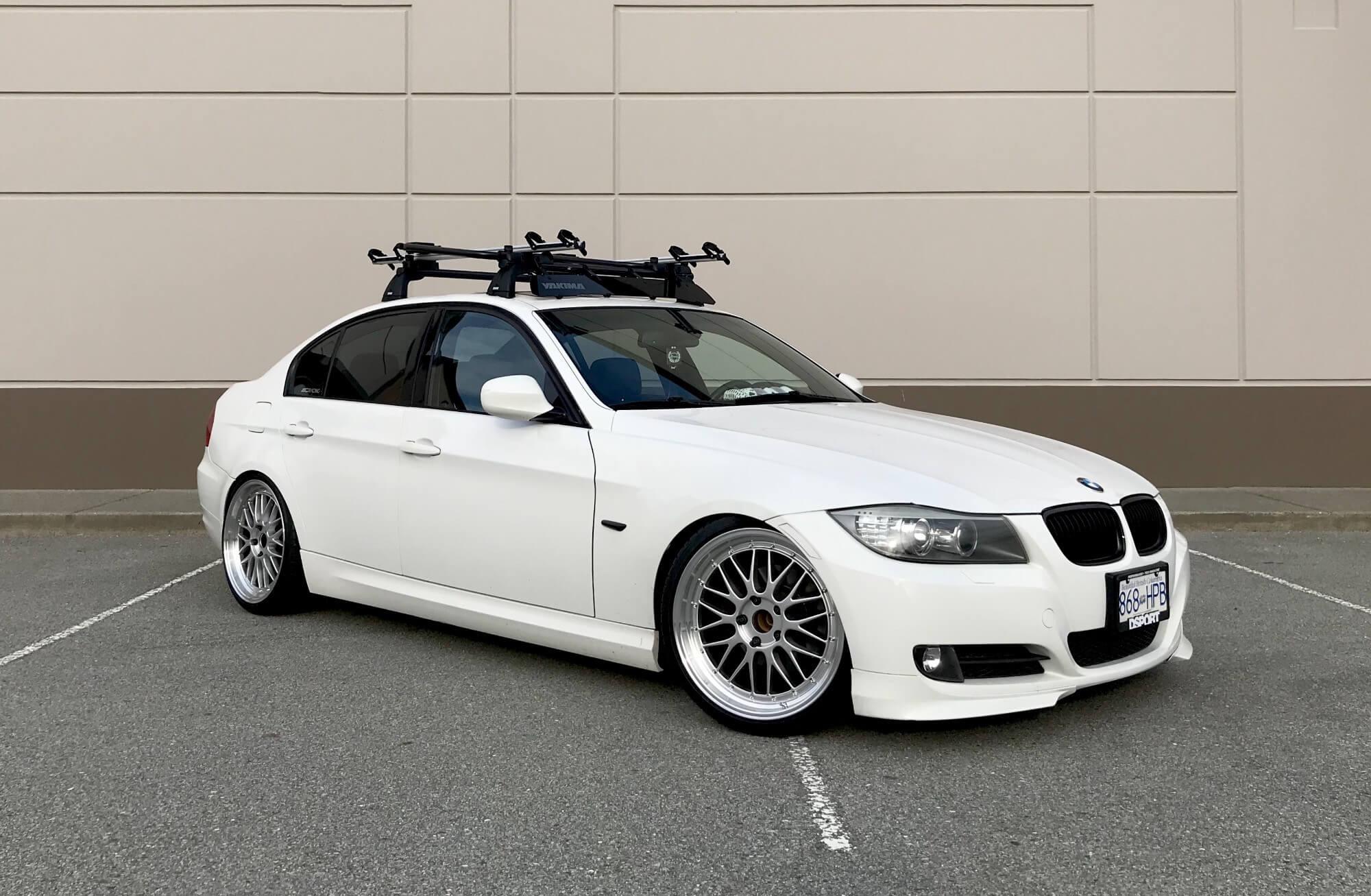 Lowered E90 on ESR Wheels