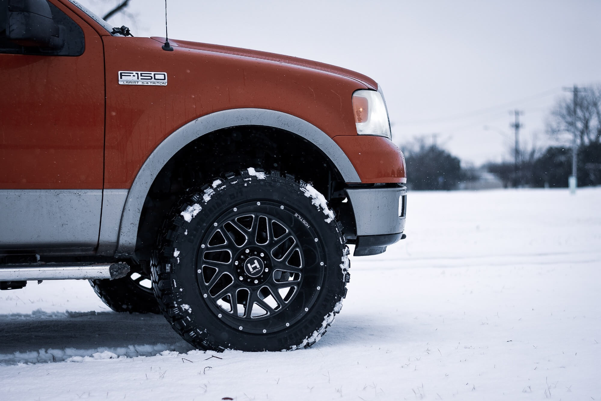 F150 with Leveling Kit