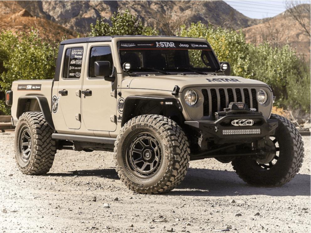Modified Jeep Gladiator
