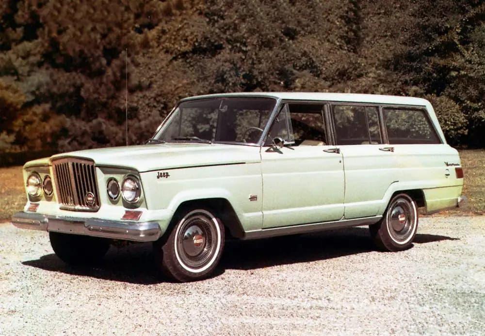 The original Jeep Grand Wagoneer in 1963