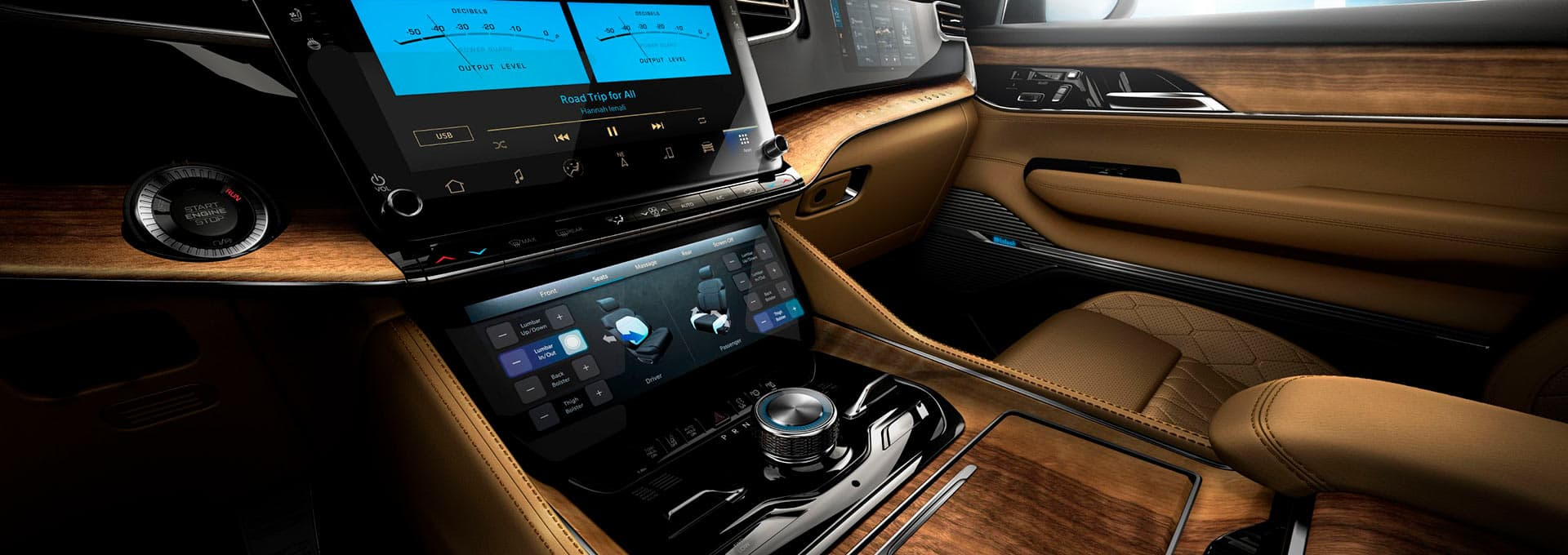 McIntosh speakers in the new Jeep Grand Wagoneer