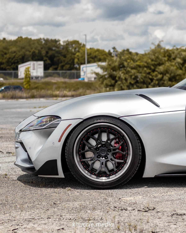 MK5 Supra with Aftermarket Wheels