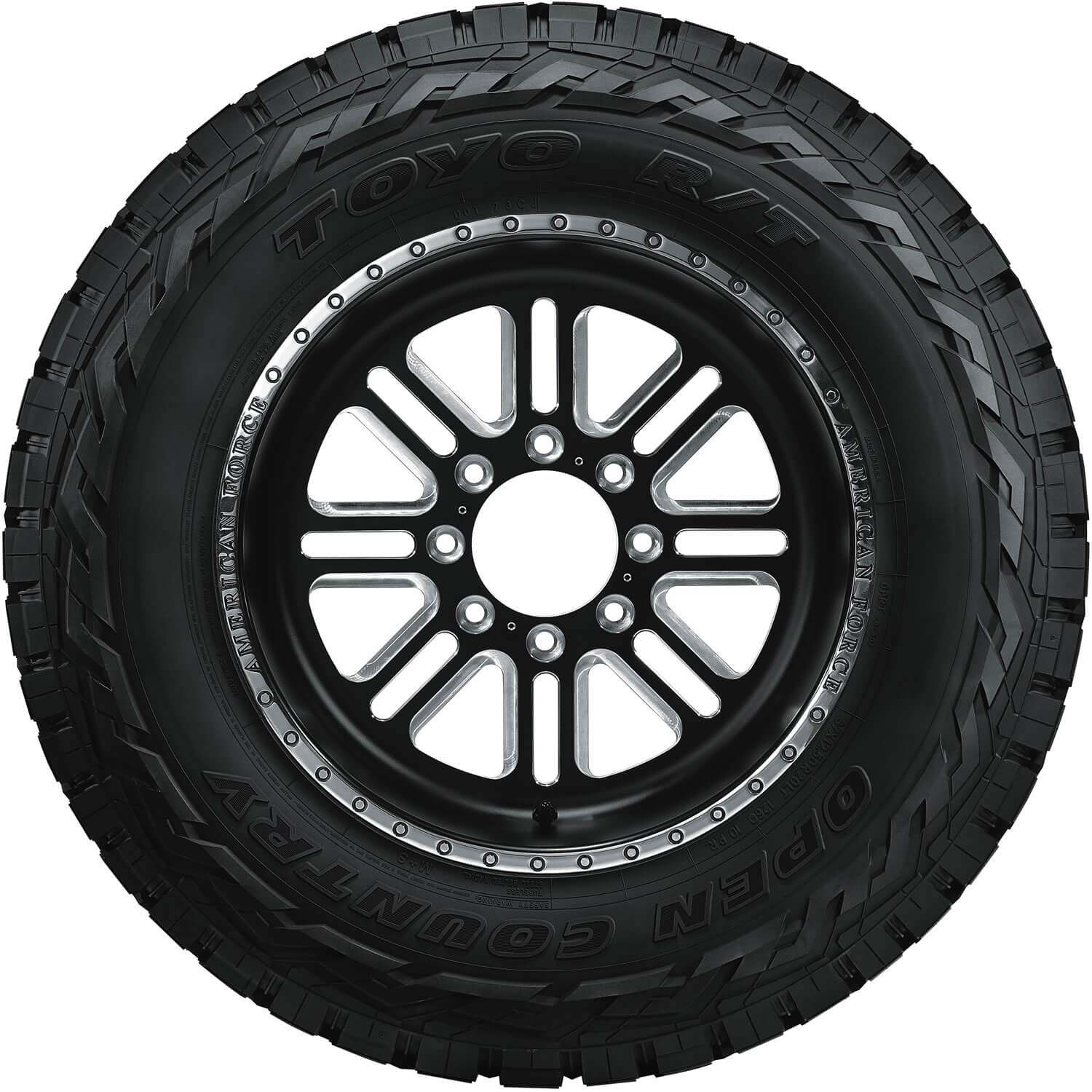 Toyo Open Country RT sidewall