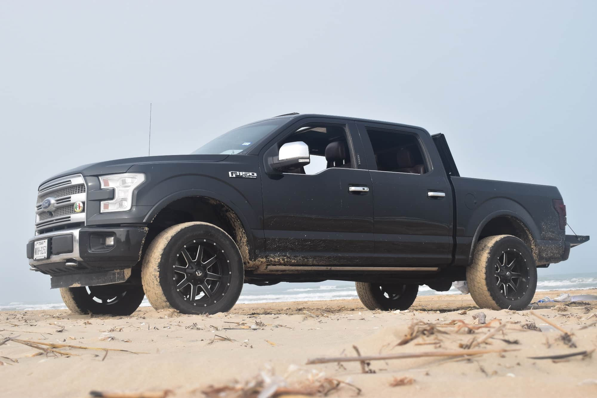 2015 Ford F150 with the Fuel Maverick