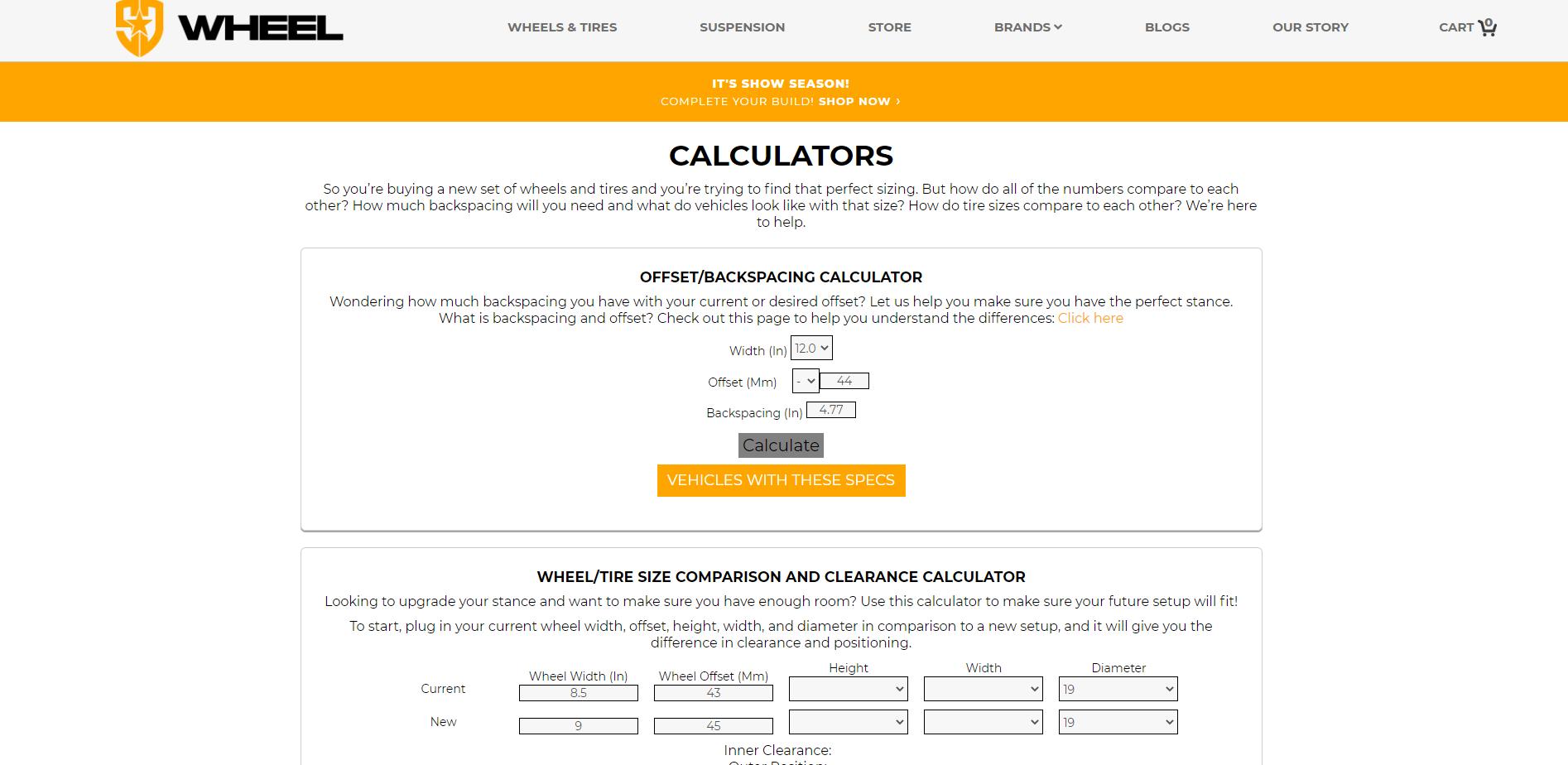 SD Fitment Calculator