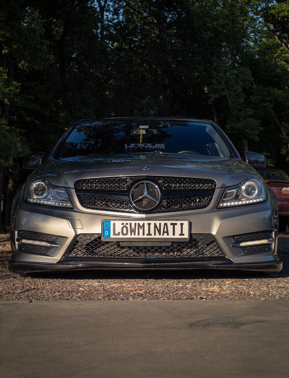 Mercedes C300 Air Suspension
